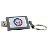 Centon 8GB DataStick Keychain Texas Rangers Edition USB 2.0 Flash Drive
