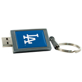 Centon DataStick Keychain Los Angeles Dodgers Flash Drive - 8 GB