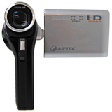 Aiptek Action-HD GVS Digital Camcorder - 3' LCD - CMOS - Black