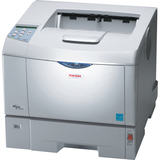 Ricoh Aficio SP 4210N Laser Printer - Monochrome - Plain Paper Print - Desktop