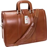 McKlein 83344 Notebook Case - Briefcase - Leather - Brown - 83344