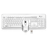 I-Rocks RF-6572L-WH Wireless Keyboard and Laser Mouse