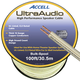 Accell Audio Cable - 98 ft - White