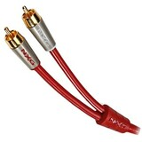 Nxg Ruby Composite Audio Cable - 13.12 ft - Red