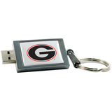 Centon DataStick Keychain Collegiate University of Georgia Flash Drive - 8 GB