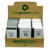 Roaring Spring Environotes Little Green Book - 77358