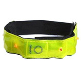 20024 - Maxsa 20024 Reflective Safety Band with 4 LED Lights