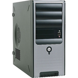 In Win System Cabinet - Mid-tower - Black, Silver