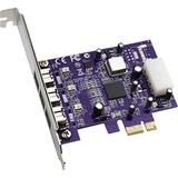 Sonnet 3-port FireWire 800 PCIe Card Adatper FW800-E
