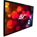 "Elite Screens SableFrame ER110WH1 Fixed Frame Projection Screen - 110"" - 16:9 - Wall Mount ER110WH1"