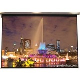 "Elite Screens Vmax VMAX180XWH Electric Projection Screen - 180"" - 16:9 - Wall Mount, Ceiling Mount VMAX180XWH PLUS4"