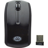 Gear Head MP2800BLK Mouse - Optical Wireless - Black - Retail