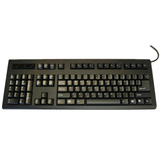 KB-8861XPU-B-V2 - DSI USB left Handed Keyboard Cherry Mechanical switch Black by Ergoguys
