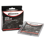 Innovera 46803 DVD Recordable Media - DVD-R - 4x - 1.40 GB - 3 Pack Jewel Case