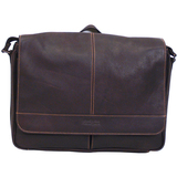 Kenneth Cole 15.4' Colombian Leather Messenger Bag