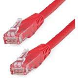 StarTech.com 5ft Red Molded Cat6 UTP Patch Cable ETL Verified