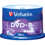 Verbatim 95037 DVD Recordable Media - DVD+R - 16x - 4.70 GB - 50 Pack Spindle