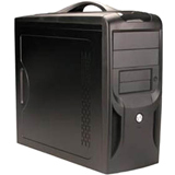 Apex TX-381-C System Cabinet - Micro Tower - Black - TX381C