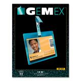 Gemex CW827 Security I.D Cards Horizontal Badge Holder CW-827