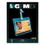 Gemex CW827 Security I.D Cards Horizontal Badge Holder
