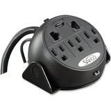 Safco 3-Outlets Power Strip 2059BL