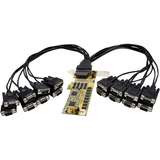 StarTech.com 16 Port Low Profile RS232 PCI Express Serial Card - Cable Included PEX16S952LP