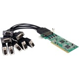 StarTech.com 8 Port Low Profile RS232 PCI Serial Card with 16950 UART PCI8S950LP