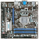 MSI H55M-E33 Desktop Motherboard - Intel Chipset