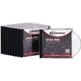 Innovera DVD Rewritable Media - DVD+RW - 4x - 4.70 GB - 10 Pack Jewel Case