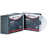 Innovera CD Recordable Media - CD-R - 52x - 700 MB - 10 Pack Slim Jewel Case