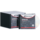 Innovera DVD Recordable Media - DVD+R - 16x - 4.70 GB - 10 Pack Jewel Case