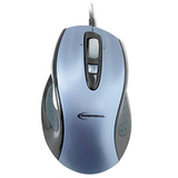 Innovera Mouse - Laser Wired - Steel Blue