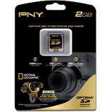 PNY P-SD2GB-EF Secure Digital (SD) Card