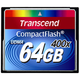 Transcend CompactFlash (CF) Card - TS64GCF400