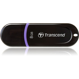 Transcend JetFlash 300 8 GB USB 2.0 Flash Drive TS8GJF300
