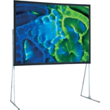 "Draper Ultimate Projection Screen - 119"" - 16:9 - Portable 241036"