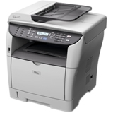Ricoh Aficio SP 3400SF Laser Multifunction Printer - Monochrome - Plain Paper Print - Desktop