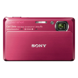 Sony Cyber-shot DSC-TX7 10.2 Megapixel Compact Camera - 4.43 mm-17.70 mm - Red
