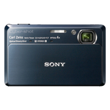 Sony Cyber-shot DSC-TX7 10.2 Megapixel Compact Camera - 4.43 mm-17.70 mm - Dark Blue