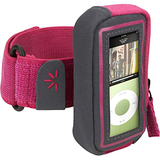 Case Logic UMA-102 Digital Player Case - Armband - Polyester - Pink
