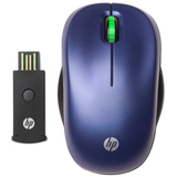 HP WE789AA#ABA Mouse - Optical Wireless - Blue
