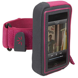 Case Logic UMA-103 Digital Player Case - Armband - Polyester - Pink, Gray