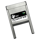 SIIG JJ-PC0112-S1 CompactFlash (CF) Card to PC Card Adapter