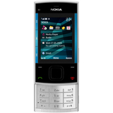 Nokia X3 Cellular Phone - Slide - Silver Blue