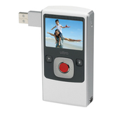 Flip Video U1120WH Digital Camcorder - 2' LCD - CMOS - White