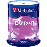Verbatim 95098 DVD Recordable Media - DVD+R - 16x - 4.70 GB - 200 Pack Spindle