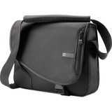 HP VX402AA Notebook Case - Messenger - Nylon - Black