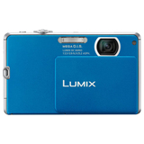 Panasonic Lumix DMC-FP1 12.1 Megapixel Compact Camera - 6.30 mm-25.20 mm - Blue