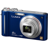 Panasonic Lumix DMC-ZR3 14.1 Megapixel Compact Camera - 4.50 mm-36 mm - Blue