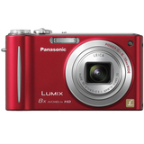 Panasonic Lumix DMC-ZR3 14.1 Megapixel Compact Camera - 4.50 mm-36 mm - Red
